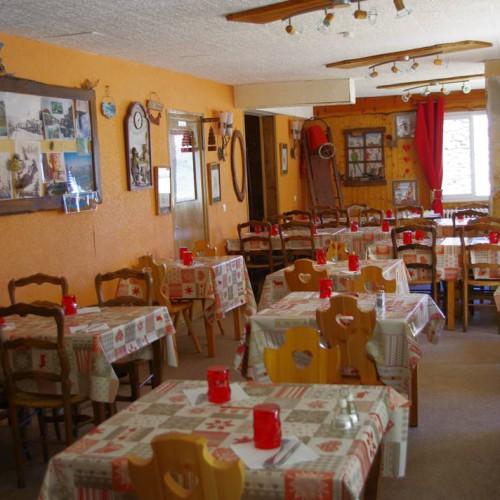 Salle de restaurant du Relais du Col